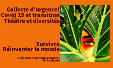 Visueel van project Collecte d'urgence solidaire pour compagnie théâtrale solidaire