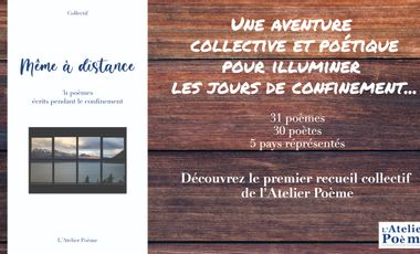 Visueel van project Même à distance - 31 poèmes écrits pendant le confinement