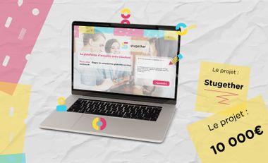 Visuel du projet Stugether: la complémentarité des compétences entre étudiants