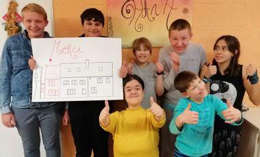 Visueel van project extension d'un foyer pour jeunes: les Anémones