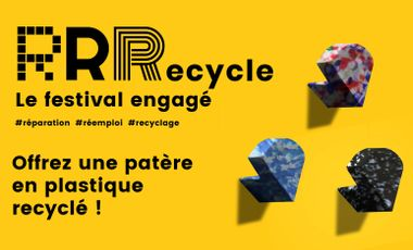 Project visual RRRecycle - Festival de design engagé