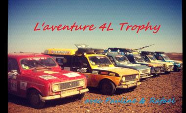Project visual 4L trophy: Le Sourire du Désert