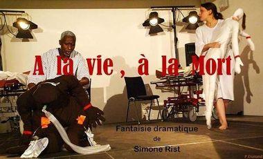 """Project visual """"A la vie, à la mort"""", à Avignon Off 2014"""