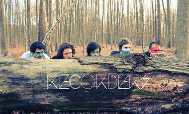 Visueel van project Help Recorders release their first album!