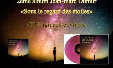 Visuel du projet 2ème album JM Dumur au piano