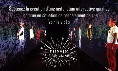 Visueel van project POÉSIE MASCULINE / entrer dans la tête d'une femme