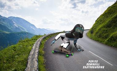 Visueel van project Pépite downhill Skateboarding