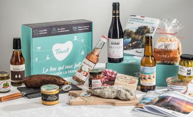 Visuel du projet Soutenez la première box dédiée au tourisme en France !