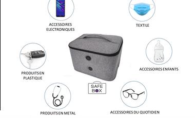 Visueel van project Safe-Box : Désinfectez vos affaires en 5min Top Chrono ! Testé et Certifié !