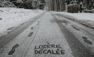 Project visual Lozère Décalée, 1er média 100% numérique d'actualités en Lozère