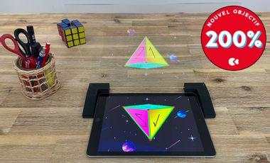 Visuel du projet 🤖  Kidaia : le jeu éducatif en hologrammes qui va vous faire aimer les maths !