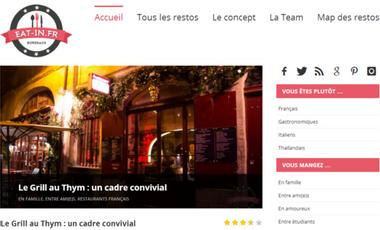 Visuel du projet Blog Eat-in.fr : Découvrez de nouvelles saveurs à Bordeaux