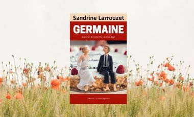 Project visual GERMAINE roman de Sandrine Larrouzet