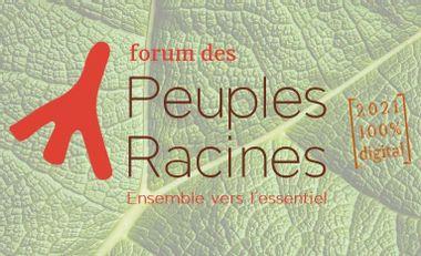 Project visual Forum des Peuples Racines 2021 - 100% digital