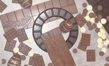 Project visual Le chocolat dans tous ses états