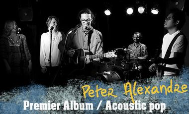 Visueel van project Peter Alexandre - 1er Album délicieusement pop-acoustique !