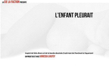Project visual L'ENFANT PLEURAIT