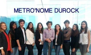 Visuel du projet Métro'nome Durock
