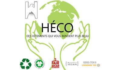 Visuel du projet Héco, nouvelle marque de prêt-à-porter éco-responsable