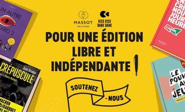 Visueel van project Massot ! Pour une édition libre et indépendante