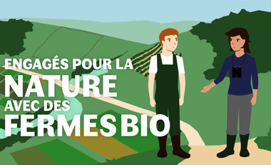 Visuel du projet Engagés pour la nature avec des fermes bio !