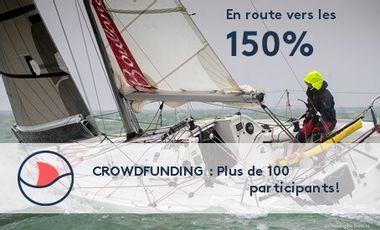 Visueel van project Hélène Clouet, en route vers la Mini Transat 2021 !