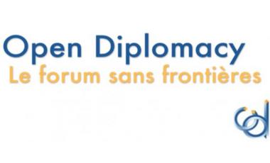 Visuel du projet Open Diplomacy, le forum sans frontières
