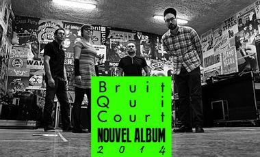 Visuel du projet Bruit Qui Court, nouvel album