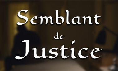 """Project visual Court métrage """"Semblant de Justice"""""""