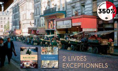 Project visual Le vieux Paris à travers 2 livres