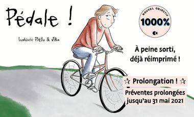 Visuel du projet Pédale ! (Ludovic Piétu & Jika)