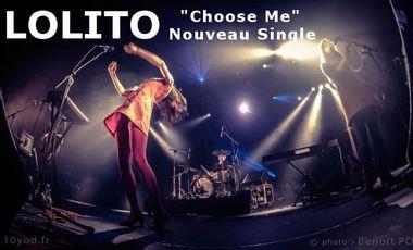 """Visuel du projet """"Choose Me"""" Nouveau Single de LOLITO"""