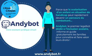 Visueel van project La technologie et le droit au service de l'inclusion !