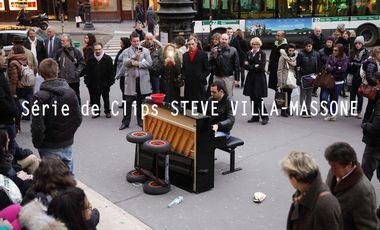 Visueel van project Série de Clips STEVE VILLA MASSONE
