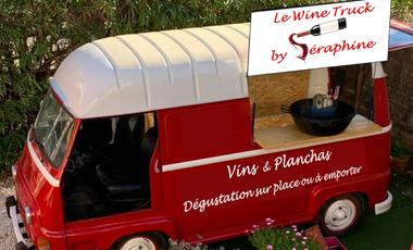 Project visual Le Wine Truck by Séraphine - L'Estafette épicurienne et conviviale!