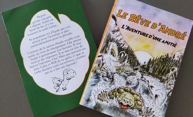 Visueel van project Le Rêve d'André - Le roman jeunesse, l'histoire d'une amitié.