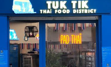 Project visual Restaurant Tuk Tik Thaï Food District #thaistreetfood