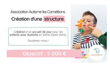 Visueel van project Autisme : Création d'une structure