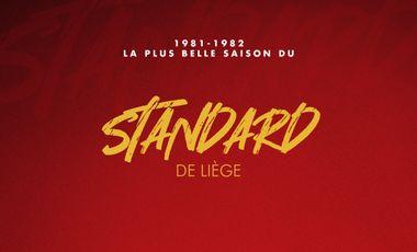 Project visual La plus belle saison du Standard de Liège saison 1981-82
