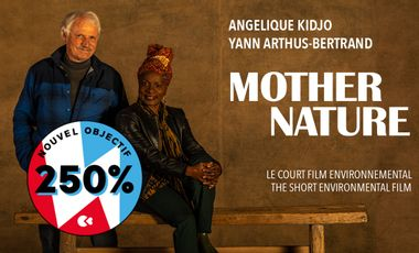 Project visual MOTHER NATURE support the Angelique Kidjo's short film with Yann Arthus-Bertrand