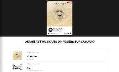 """Visueel van project Aide à la promotion de la WebRadio """"La Distillerie Sonore Radio"""""""