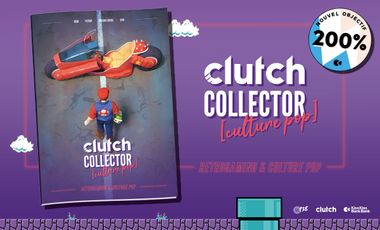 Visuel du projet Clutch Collector [Culture pop]