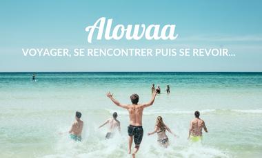 Project visual Alowaa, l'application qui vous fait voyager et rencontrer de nouvelles personnes
