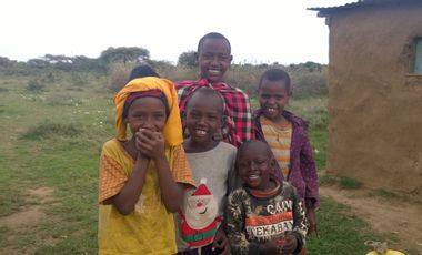 Visueel van project OFFREZ UNE VACHE AUX ENFANTS MASSAI DU KENYA