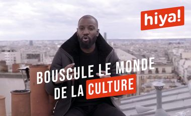 Visuel du projet HIYA!, le média culturel du 21e siècle