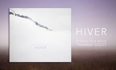 Visueel van project HIVER / Premier livre photo de Thomas Gigot