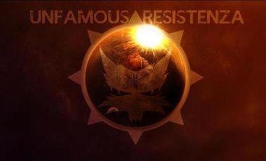 Project visual SOUTENIR UNFAMOUS RESISTENZA