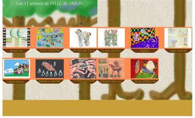 Project visual Projet d'art Pelle Au Jardin