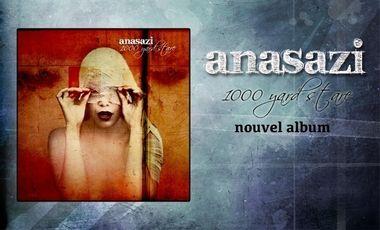 """Visuel du projet anasazi produit son nouvel album """"1000 yard stare"""""""
