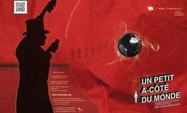 Visueel van project Un petit à-côté du monde, théâtre & numérique